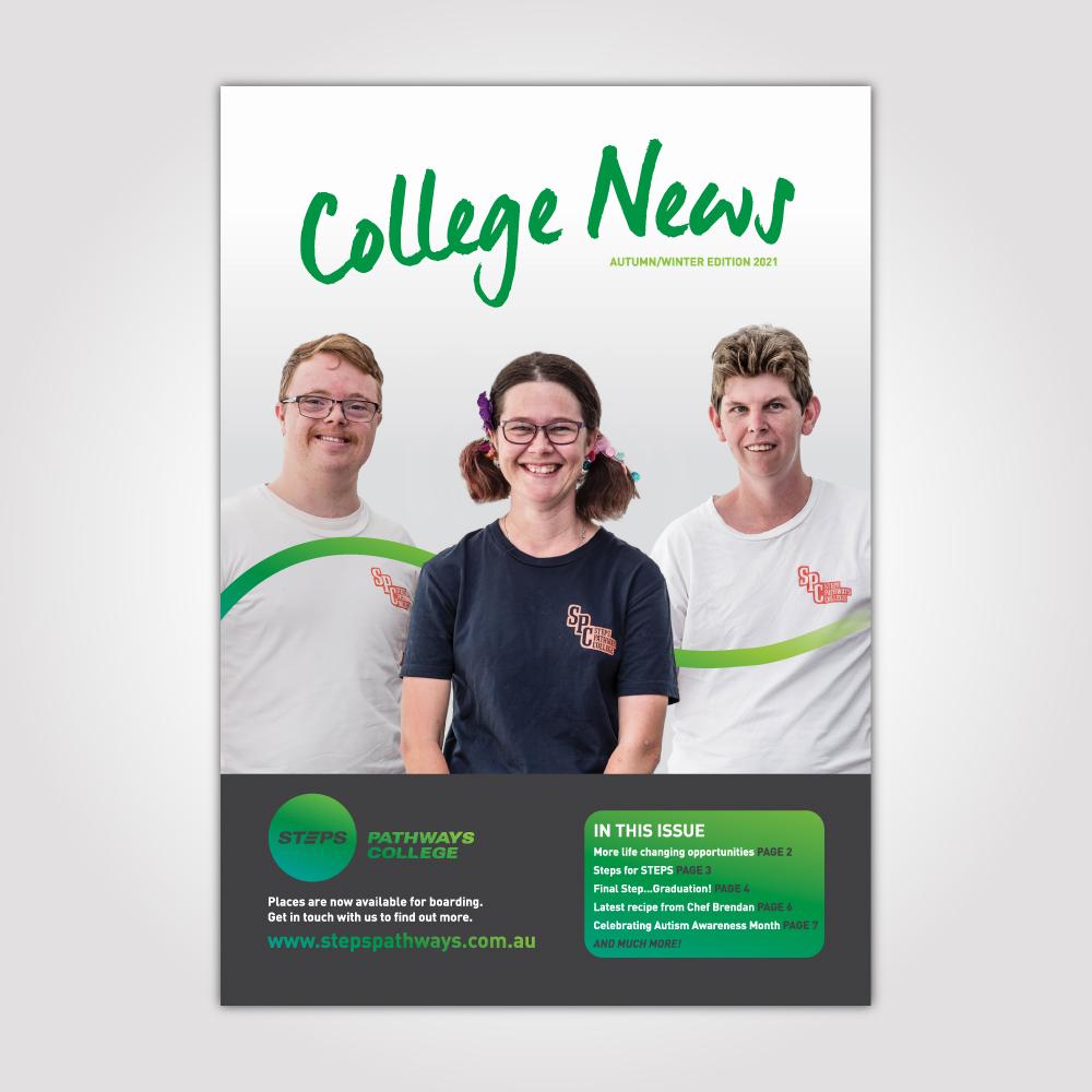 STEPS Pathways College newsletter
